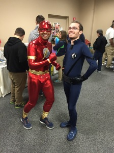 The Flash and Mr. Fantastic.