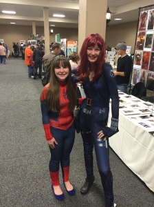 Spider-woman and Black Widow.