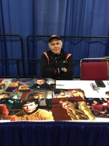 Actor Walter Koenig (Star Trek: The Original Series).