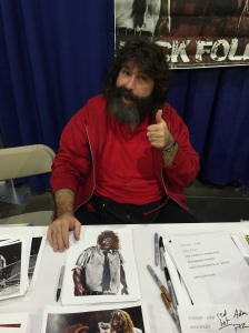 WWE star and author Mick Foley.