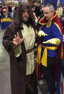 Ben Obi-Wan Kenobi and Dr. Strange.