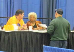 Actress Nichelle Nichols (Star Trek: The Original Series).