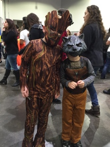 Groot and Rocket.