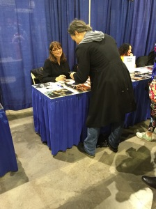 Actress Karen Allen (Raiders of the Lost Ark, Starman).