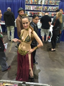 Princess Leia (Cosplayer Sarah Ann McGinnis)