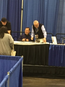 Actor George Takei  (Star Trek: The Original Series).