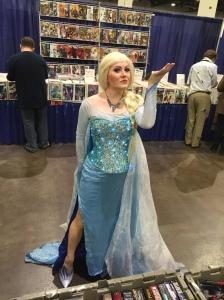 Frozen's Elsa.