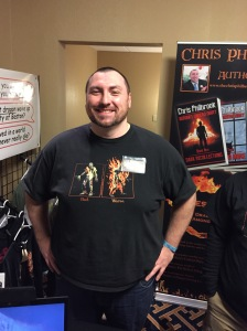 Author Chris Philbrook.