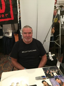 Wrestler Scott Hall.