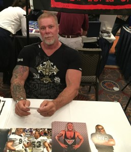 Wrestler Kevin Nash (Magic Mike, Rock of Ages).