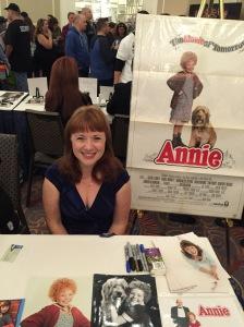 Aileen Quinn (Annie).