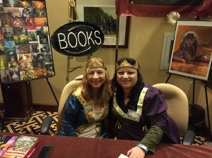 Authors Della Rita Rossetti and Lory La Selva Paduano.