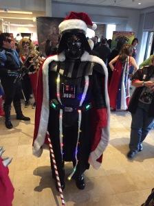 Santa Darth Vader.