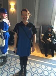 A Starfleet officer.