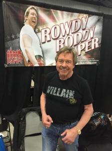 WWE Lengend Rowdy Roddy Piper.
