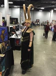 Artist Kat Cuseo as Loki.