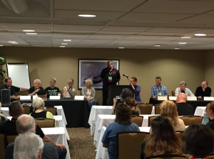 The State of the Union for Speculative Fiction and Art Panel.