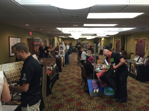 AnthoCon's Dealer Room.