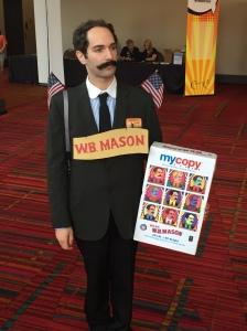 W.B. Mason.