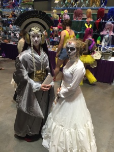Queen Amidala and friend.
