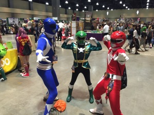 The Power Rangers.
