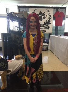 Sally from A Nightmare Before Christmas.