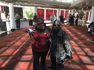 Freddy Krueger and Jason  Voorhees.