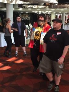 WWE Wrestler Mick Foley.