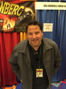 Greg Grunberg (Big Ass Spider!, Heroes, and Heroes).