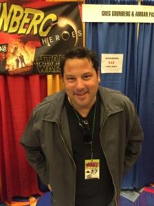 Greg Grunberg (Big Ass Spider!, Heroes, and Heroes).