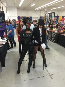 Catwoman and Zatanna Zatara.