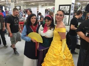 The Disney Princesses.