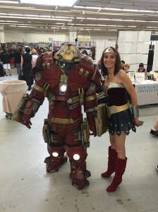 Iron Man and Wonder Woman.