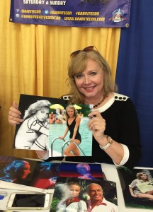 Actress Cindy Morgan (Tron).