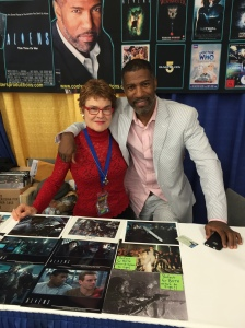 Cynthia Scott and Ricco Ross of Aliens.