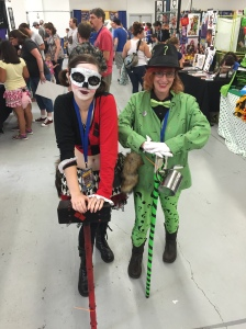 Harley Quinn and The Riddler.