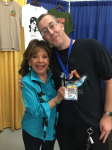 Me with Dawn Wells (Gilligan's Island).
