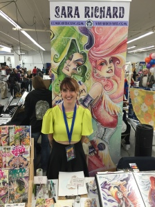 Artist Sara Richard (Jem and the Holograms).