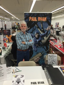 Artist Paul Ryan (The Phantom).