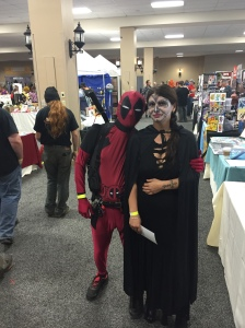 Deadpool and friend.