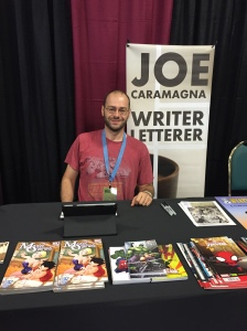 Comic book writer Joe