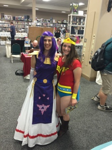 Wonder Woman and friend.