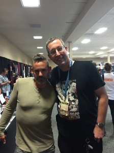 Actor Nicholas Brendon and me.