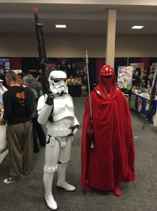 Stormtrooper and Emperor's Royal Guard.
