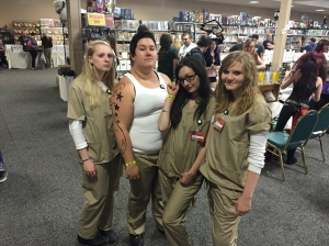 Work release inmates from Orange is the New Black.