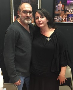 Authors Brian Keene and Mary SanGiovanni.