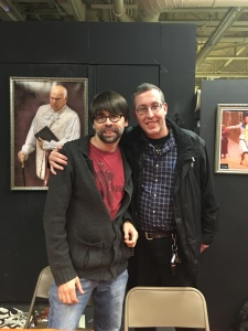 Me with author Joe Hill.
