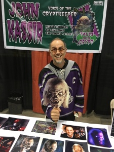 John Kassir, the voice of the Cryptkeeper.