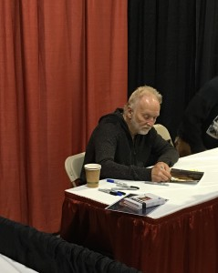 Actor Tobin Bell (Saw).