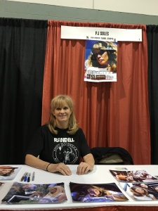 Actress P.J. Soles (Halloween).